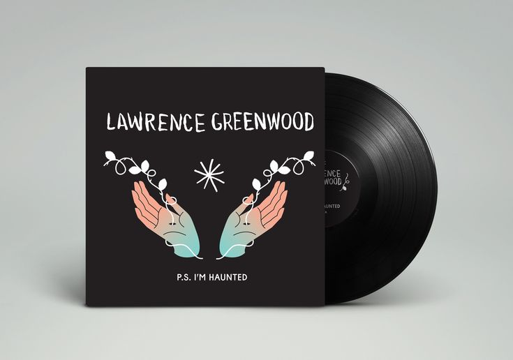 "Lawrence Greenwood - P.S. I'm Haunted (vinyl 180g Audiophile Grade 12"" w/ Digital Download)"