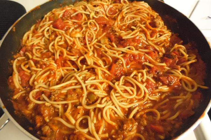 The Best Spaghetti Recipe... I'll just have to see about that!!