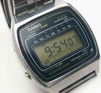 My first Casio watch