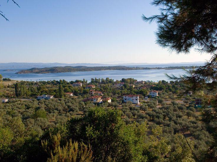 Enjoy this panoramic view of #Vourvourou area in #Halkidiki #Greece