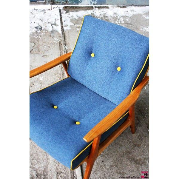 Fauteuil vintage style scandinave - Mille m2