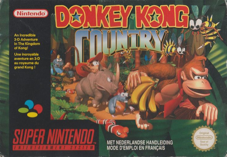 Donkey Kong Country - Super Nintendo - Acheter vendre sur Référence Gaming