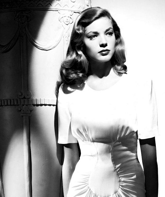 Lauren Bacall, old hollywood actress and icon...love this whole look