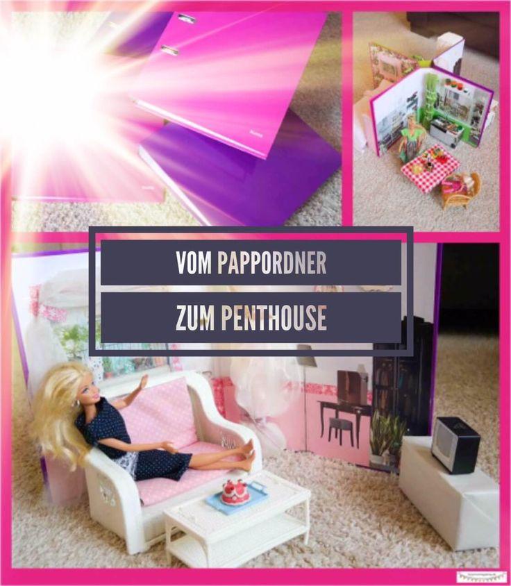 Günstiges Barbiehaus, kleines Puppenhaus selber bauen, Basteln für Barbie,Tuto…