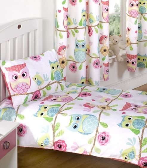 Owl and Friends Toddler Duvet Set
