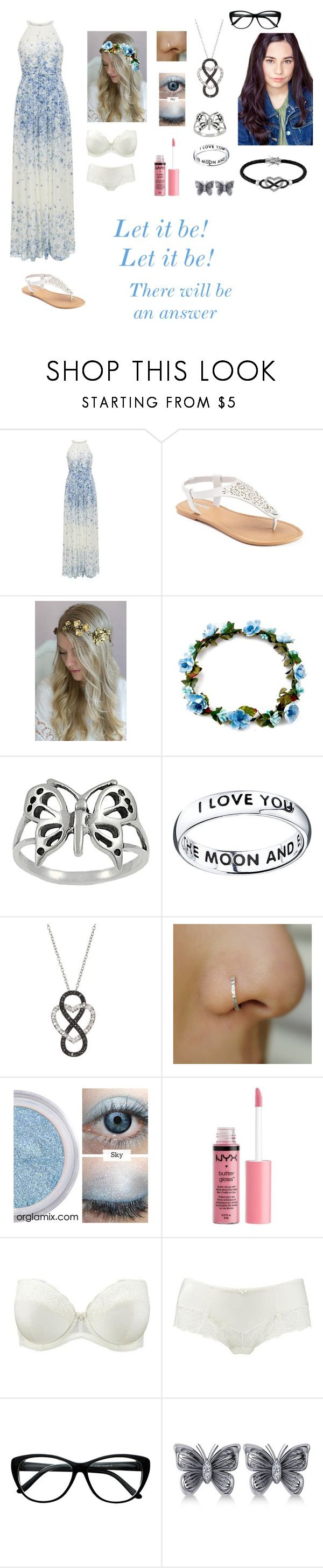 """Andrea Anderson-Let It Be-Glee OC"" by silverbellatrix ❤ liked on Polyvore featuring Hobbs, SONOMA Goods for Life, Twigs & Honey, Journee Collection, Footnotes, Charlotte Russe, Rigby & Peller, Allurez and Jewel Exclusive"