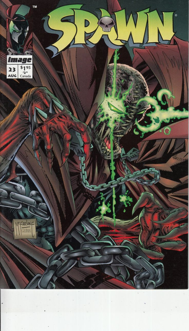 Spawn #23 - August 1994 Issue - Image Comics - Grade NM