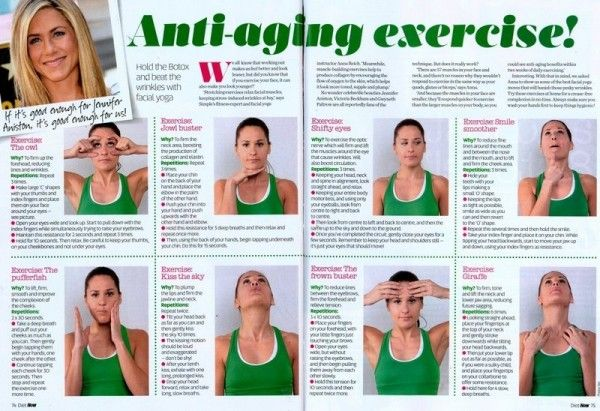 51 Best Anti Aging Facial Massage Exercise Images On Pinterest