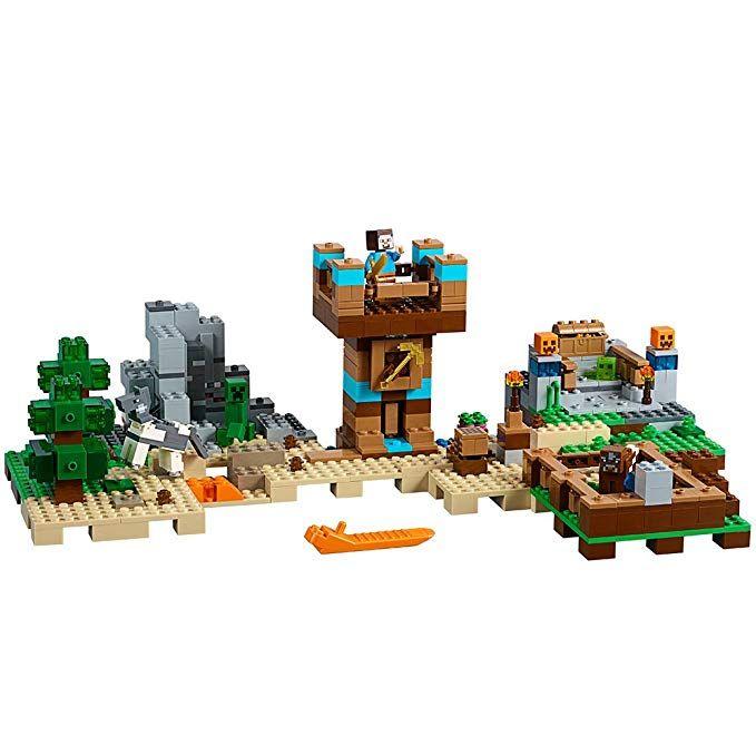 Lego Minecraft The Crafting Box 2 0 21135 Building Kit 717 Piece Lego Minecraft Craft Box Minecraft