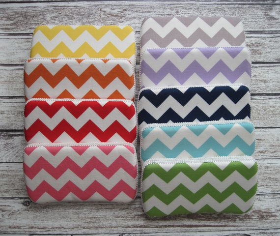 Chevron Baby Wipes Case, Riley Blake Chevron print, Available in 9 Colors, Modern Baby Design on Etsy, $12.00