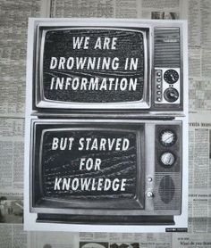 The Information Age provides us with an abundance of accessible information. So much so, that we don't take the time to understand this information. The amount of information presented to us daily, forces us to consume without understanding. This has potential to cause problems for many young people entering the workforce.