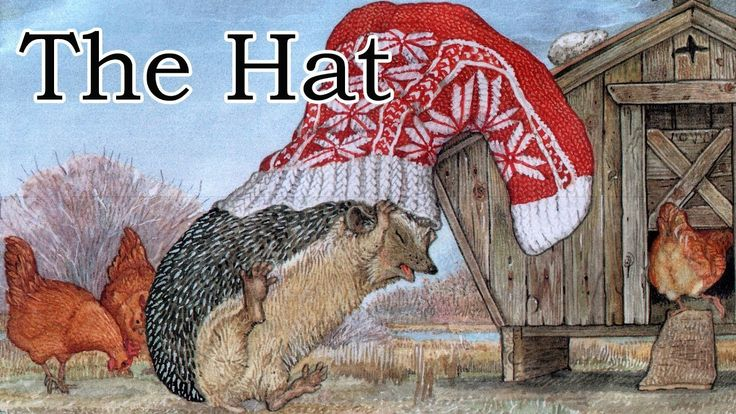 The Hat by Jan Brett - Children's Winter Book - YouTube