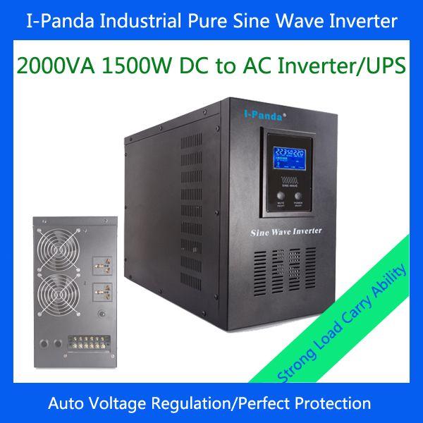 1500W solar power inverter 1500w DC to AC power inverter match generator pump inverter for solar power system #Affiliate