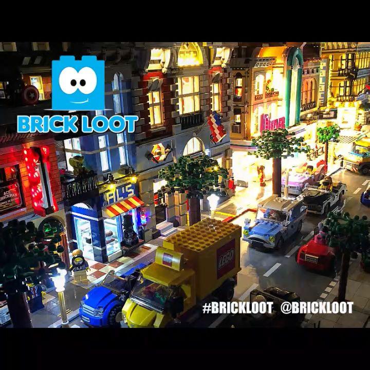 Arbeitende LEGO Harry Potter Laterne   – LEGO Light Kits