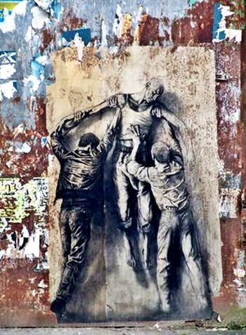 Ernest Pignon-Ernest precurseur du Street art
