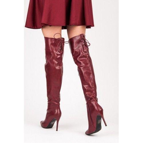 Dámské kozačky Yes Mile Berdy červené – červená Kozačky, které v pohodlí i stylu získávají 100 bodů ze sta. Černé vysoké kozačky od značkyYes Milejsou navržené a vyrobené z těch nejlepších materiálů, aby byly vaše …