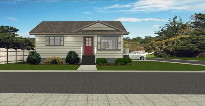 House Plan 2011568 Corner Lot Design Bungalow By Edesignsplans Ca Great Plan For A Corner Lot With The 2 Car Garage Off T Bungalow House Styles House Plans