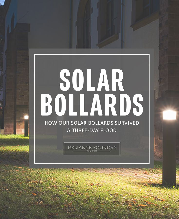 Are your lights tough enough? Our solar bollards stand up to violent attacks and extreme weather. Check out our latest blog post to hear the story!