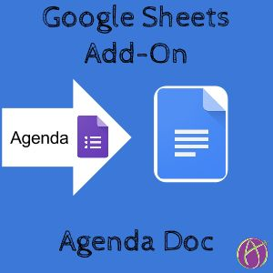 I have created an Add-On script that allows you to create a Google Form with the list of agenda items for a meeting and then mergethe responses of participants to an editable Google Doc. I have no…