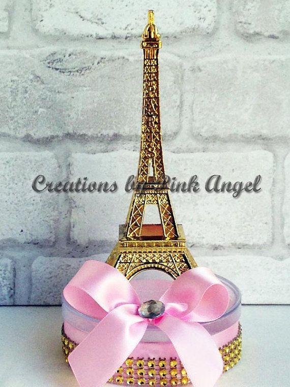Set of 6 Pink and Gold Paris Centerpieces, Small Eiffel Tower Centerpieces, Paris  Party Favors, Gold and Pink Paris Centerpieces - 14 Best Paris Party Ideas Images On Pinterest Paris Party