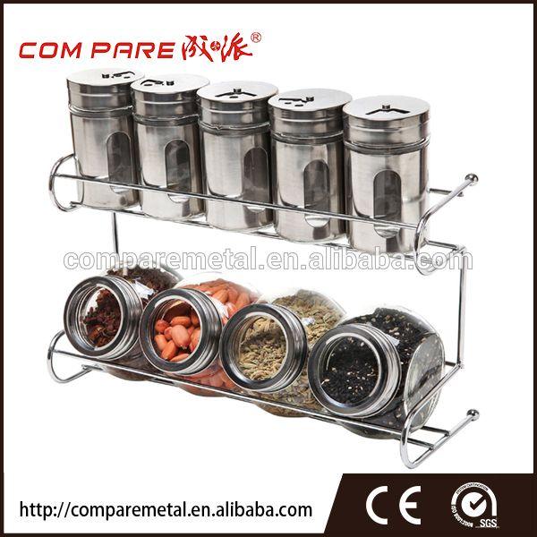 Rotujúce Spice Rack organizátor, 16 korenie fľaše, Výhľad drôt korenie organizátor, Porovnať Detail produktu z Jiangmen porovnajte Metal Industrial Co., Ltd. na Alibaba.com