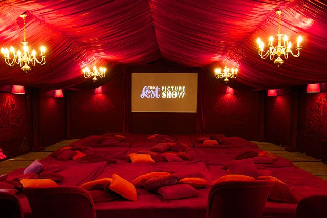 Lost Picture Show's beautiful tent