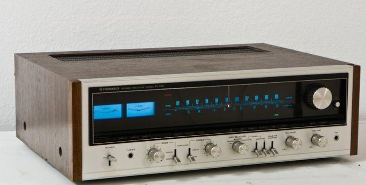 vintage pioneer radio   Pioneer Stereo Receiver Information