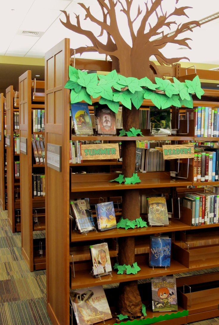 Classroom Decor S ~ Our summer reading tree is bare help us fill branches