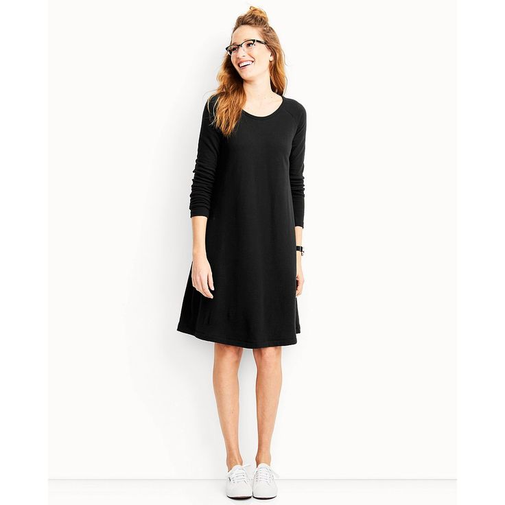 Women's Good To Go Dress In French Terry by Hanna Andersson