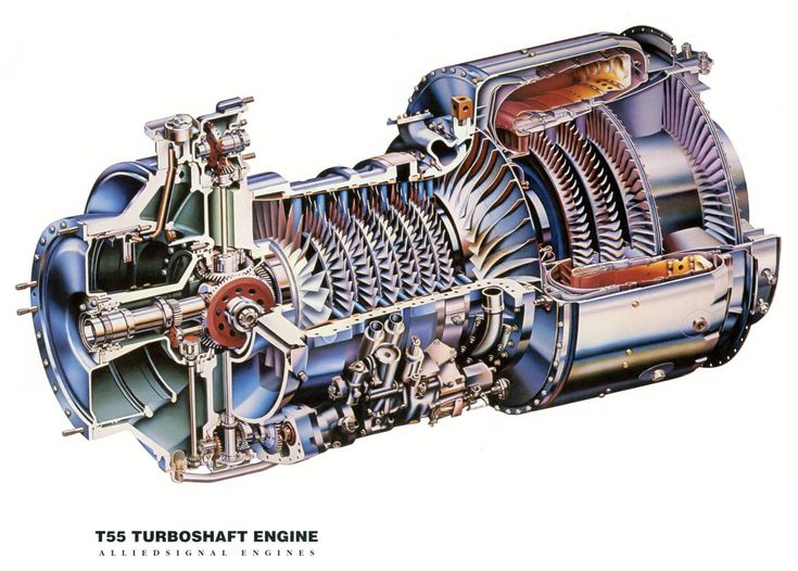 ch 47 chinook lycoming t55 engine jet engine engine