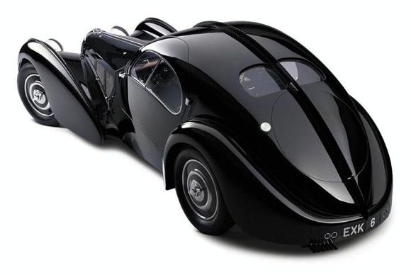 Bugatti Atlantic. Only three ever built.