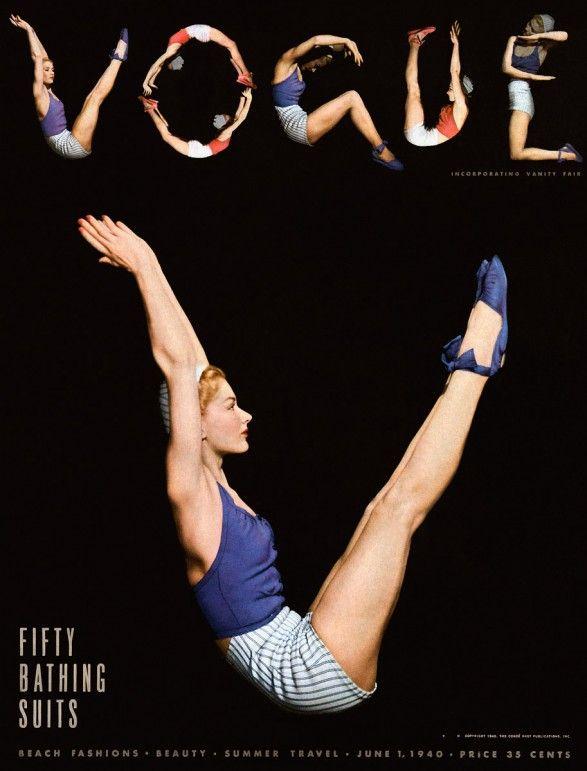 Vogue cover, 1940
