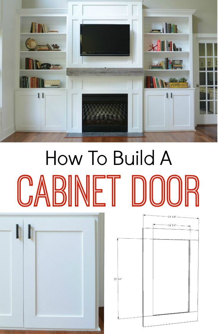 Homemade kitchen cabinets ideas - How To Build A Cabinet Door
