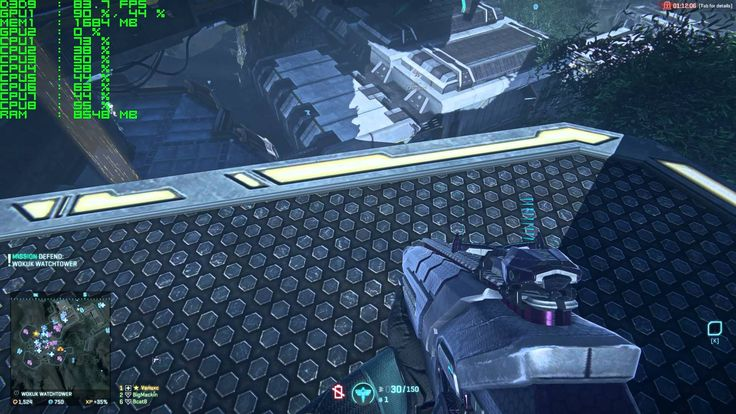 Planetside 2 (PS2) - MSI GTX 970 Gaming - 1080p Ultra Gameplay Performance
