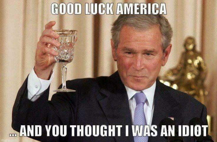 Da meinte man es kann nach Bush nicht schlimmer kommen - Fehler!
