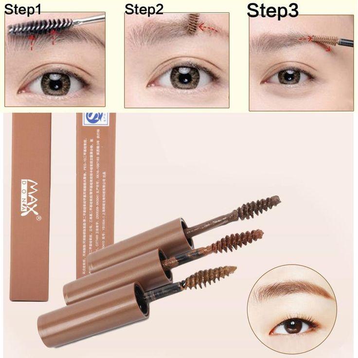 [Visit to Buy] Brand Makeup Brown Eyebrow Gel 3 Colors Cejas Make Up Crayon Sourcils Waterproof Eyebrow Tint My Brows Pen Maquiagem #Advertisement