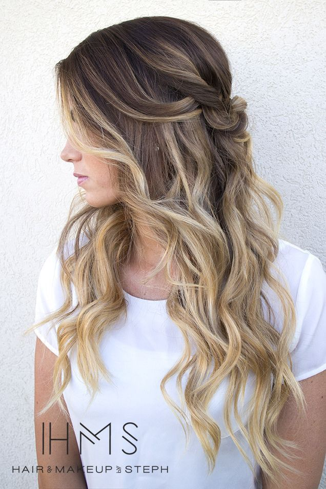 Best 25 dark hair blonde highlights ideas on pinterest dark brown base with dark blonde highlights and balayageher hair is perfect pmusecretfo Choice Image
