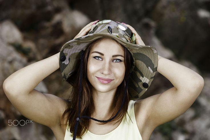 happy girl by Alexander Šurlák on 500px