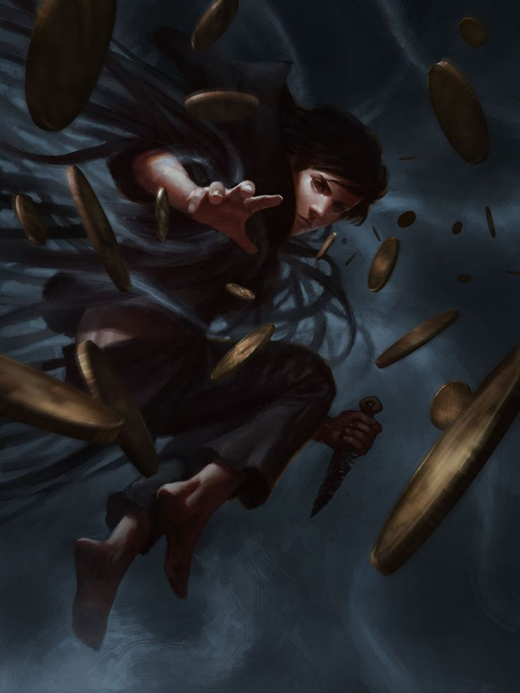 """A lil' fanart I did while reading Brandon Sanderson's """"Mistborn"""" trilogy, more specifically the first one, """"Final Empire"""" Awesome books, love his work, hope you like it!"""