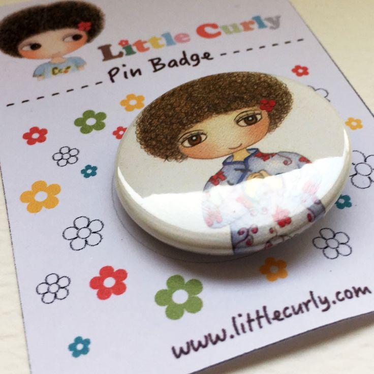 China Doll - Pin Badge