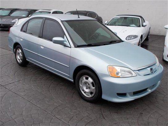 Sedan, 2003 Honda Civic Hybrid Sedan with 4 Door in Sherman Oaks, CA (91411)