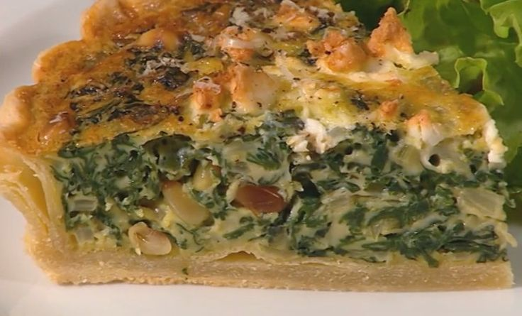 A really easy silverbeet and feat vegetarian quiche (add some Geoff Jansz Hot and Sweet Chilli Sauce for an extra kick!).
