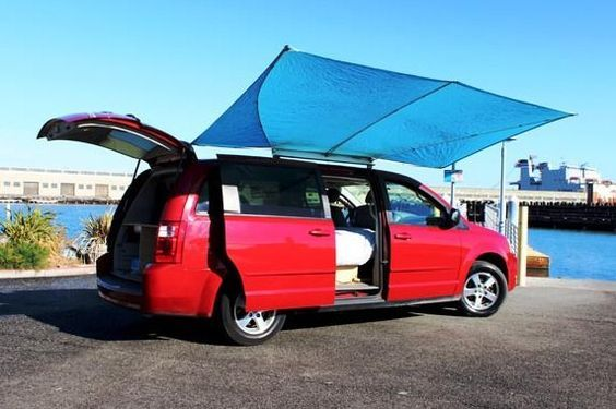 Right now I want to show you how this camper van rental company has turned this Dodge Grand Caravan minivan camper. They're a company called Lost Campers who specialize in camper van rentals throug...