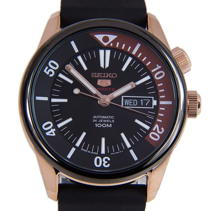 Chronograph-Divers.com - Seiko 5 Sports Mechanical 24 Jewels Male Black Dial Luminous Hands Markers Watch SRPB32J SRPB32, $198.00 (https://www.chronograph-divers.com/seiko-5-sports-mechanical-24-jewels-male-black-dial-luminous-hands-markers-watch-srpb32j-srpb32/)