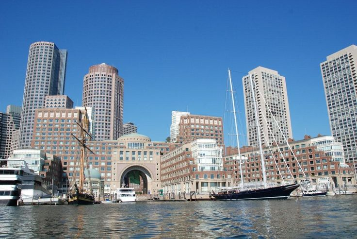 pictures of boston | Pic of Boston Downtown and Yacht METEOR. For more info on the ...