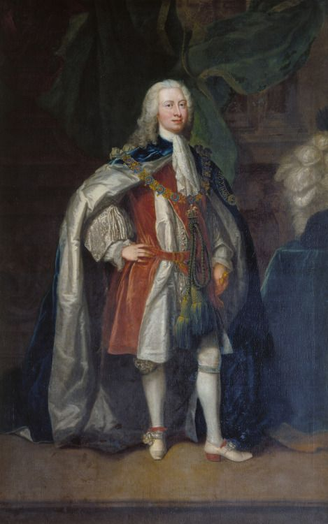 1737 Charles Philips - Frederick, Prince of Wales | History of fashion in art & photo