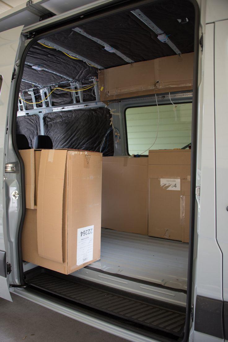 Mocking up locations Sprinter Adventure Van en