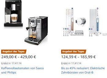 """Oral-B: Aktionsangebote bei Amazon für einen Tag https://www.discountfan.de/artikel/technik_und_haushalt/oral-b-aktionsangebote-bei-amazon-fuer-einen-tag.php Vier ausgewählte Produkte der Reihe """"Oral-B"""" sind jetzt bei Amazon für einen Tag zu Schnäppchenpreisen zu haben. Außerdem im Angebot: Tageslinsen und Kopfhörer. Oral-B: Aktionsangebote bei Amazon für einen Tag (Bild: Amazon.de) Die Produkte von Oral-B mit Rabatt sind nur am heutigen... #Körpferpfle"""