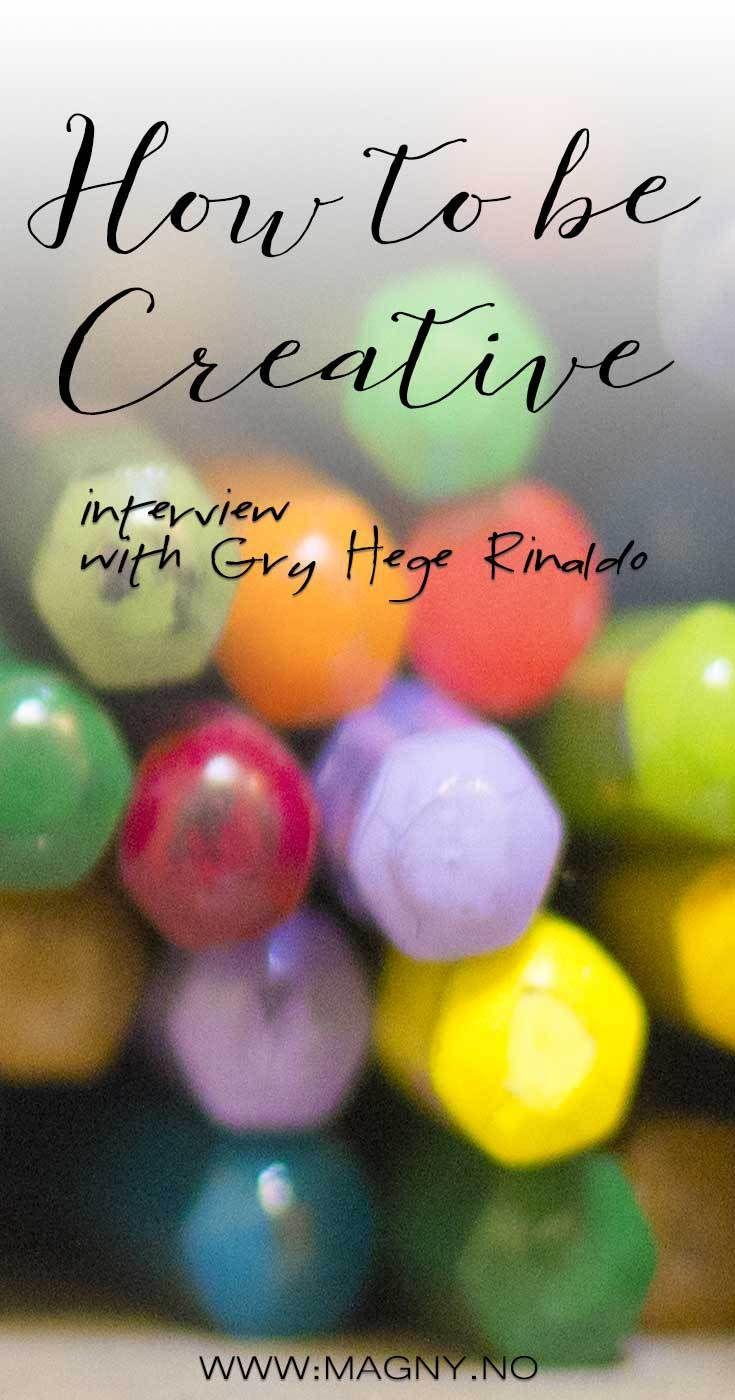 how to make a creative blog