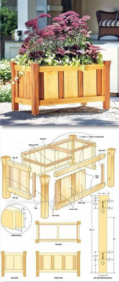 Versailles Planter Plans - Outdoor Plans and Projects   WoodArchivist.com